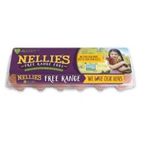 Nellie's Free-Range Grade A Large Brown Eggs - 12ct