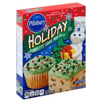 Pillsbury Holiday Funfetti Cake Mix - 15.25oz