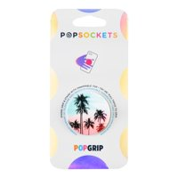 Popsockets Grip with Swappable Top for Cell Phones, PopGrip Tropical Sunset