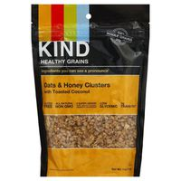 Kind Granola, Oats & Honey Clusters with Toasted Coconut