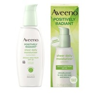 Aveeno Positively Radiant Sheer Daily Moisturizing Lotion - Dry Skin - SPF 30 - 2.5 fl oz