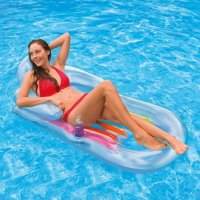 Intex Inflatable King Kool Pool Lounge 63' x 33.5', Color may vary