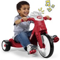 Radio Flyer, My First Big Flyer with Lights & Sounds, Tricycle, Red