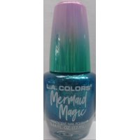 L.A. COLORS Mermaid Magic Nail Polish, CNL73 Mermaid, 0.44 Fl. Oz.