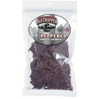 Old Trapper Beef Jerky, Peppered, Naturally Smoked