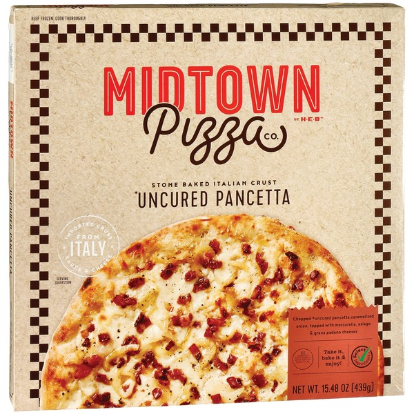 Midtown Pizza Co. Pancetta Pizza