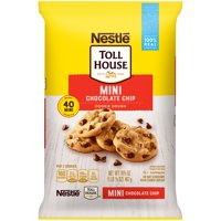NESTLE TOLL HOUSE Mini Chocolate Chip Cookie Dough 16.5 oz. Pack