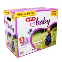 H-E-B Value Pack Baby Diapers
