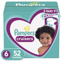 Pampers Cruisers Diapers Size 6 52 Count