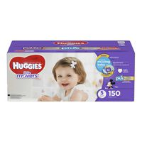 Huggies Little Movers Plus Diapers, Size 5, 150 ct