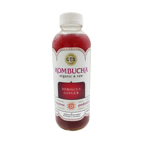 Hibiscus No. 7 Enlightened Kombucha, 16 fl oz