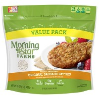 Morningstar Farms Original Frozen Sausage Patties - 12ct