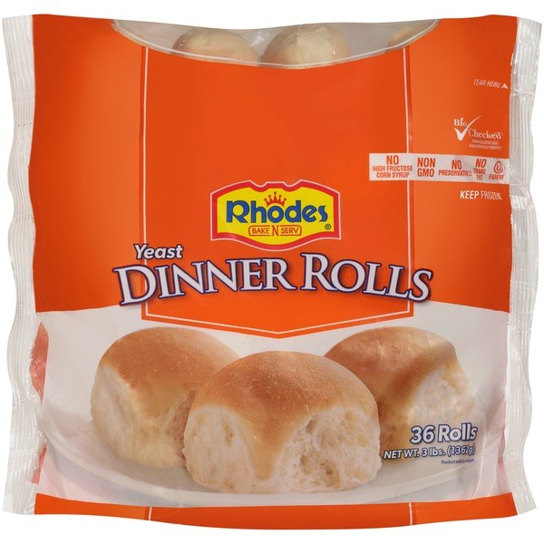 Rhodes Yeast Dinner Frozen Rolls Dough From Tom Thumb In Dallas