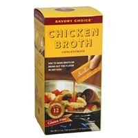 Savory Choice Broth Concentrate, Chicken, Stick Pouches