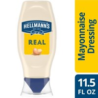 Hellmann's Real Mayonnaise Real Mayo Squeeze Bottle 11.5 oz