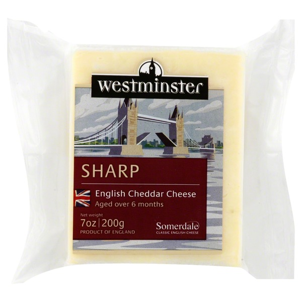 Westminster Cheese, Sharp English Cheddar Cheese