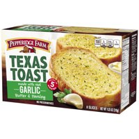 Pepperidge Farm Texas Toast Frozen Garlic Bread, 11.25 oz. Box