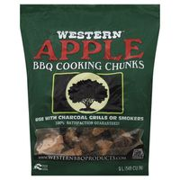 Western Premium BBQ Products BBQ Cooking Chunks Apple