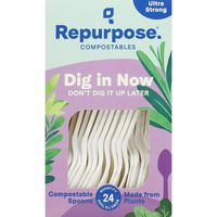Repurpose Spoons, Ultra Strong, Compostables