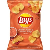 Lay's Grilled Cheese and Tomato Soup Potato Chips - 7.75oz