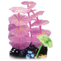 Glowing Coral with Frog Aquarium Ornament