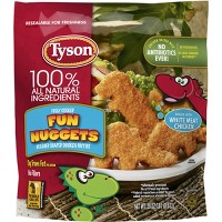 Tyson White Meat Fun Frozen Nuggets - 29oz