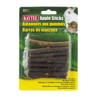 Kaytee Forti-Diet Apple Sticks Small Animal Treats, 10 Ct