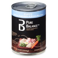 Pure Balance Wet Dog Food Single Cans, Various Flavors, 12.5 oz
