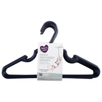 Parent's Choice Infant and Toddler Hangers, Navy, 10 Pack