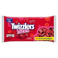 Twizzlers Bites Cherry Licorice Candy Bag - 16oz