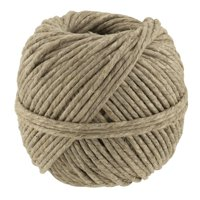 Cousin Natural Polished Thick Hemp Cord, 64.5 Yd.