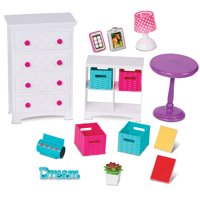 "My Life As Bedroom Set for 18"" Doll, 16 Pieces"