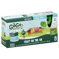 GoGo Squeez Applesauce, Variety Apple Apple/GIMME