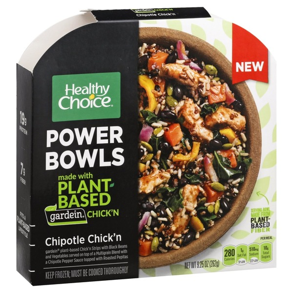 Healthy Choice Power Bowls, Meatless Chipotle Chick'n