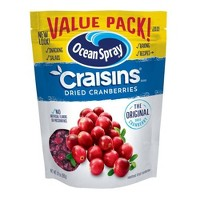 Ocean Spray Dried Cranberries Value Pack - 24oz