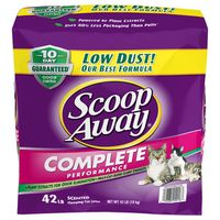 Scoop Away Complete Performance Cat Litter, 42 lbs