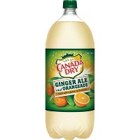 Canada Dry Ginger Ale and Orangeade - 2L Bottle
