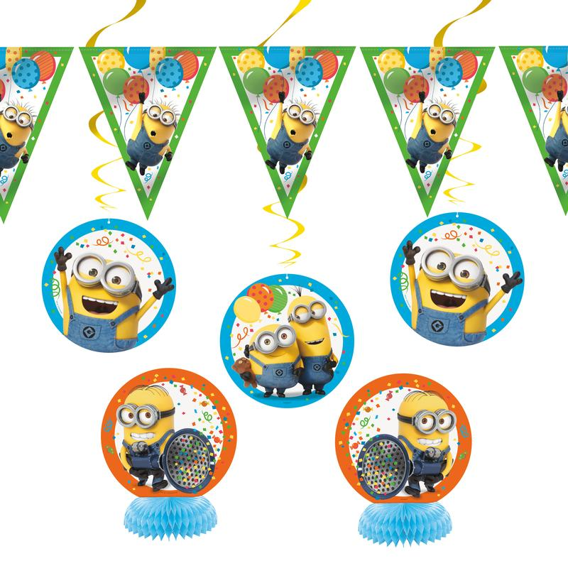 Despicable Me Minions Party Decorating Kit, 7pc