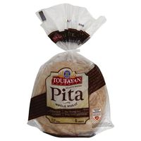 Toufayan Bakeries Pita Whole Wheat - 6 CT