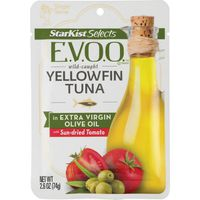 StarKist Selects® StarKist Selects E.V.O.O.® Yellowfin Tuna in Extra Virgin Olive Oil with Sun-dried Tomato - 2.6 oz Pouch