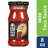 Taco Bell Mild Taco Sauce, 8 oz Bottle