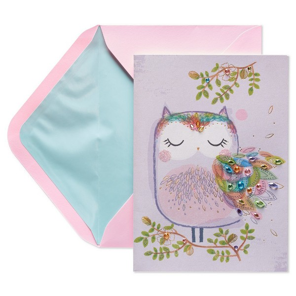 Mother's Day Card Owl - Papyrus