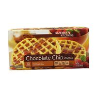 Signature Kitchens Waffles, Chocolate Chip