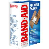 Band Aid Brand Flexible Fabric Adhesive Bandages, Assorted Sizes