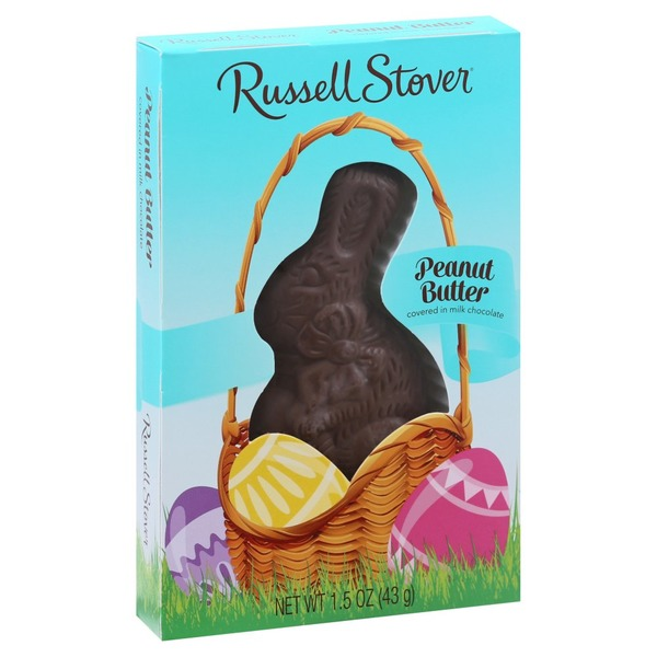 Russell Stover Milk Chocolate, Peanut Butter