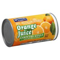 Hill Country Fare 100% Frozen Concentrated Country Style Orange Juice