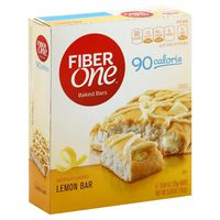 Fiber One Bars, Soft-Baked, Lemon