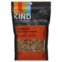 Kind Granola, Whole Grain Clusters, Peanut Butter