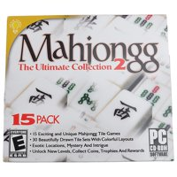Mahjongg The Ultimate Collection (PC CD-ROM), 15 pack