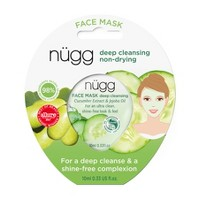 nügg Deep Cleansing Face Mask with Cucumber Extract & Jojoba Oil - 0.33 fl oz